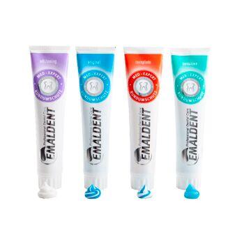 Zahnpasta  Emaldent 125ml  Original Sensitive Zahnweiß Complete