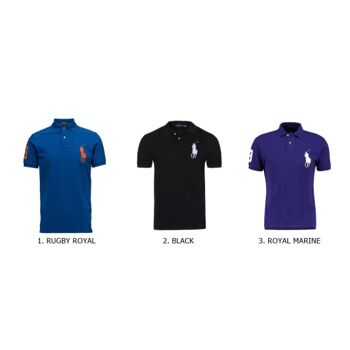RALPH LAUREN POLO SHIRT - BIG LOGO