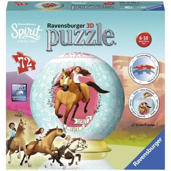 Ravensburger 11143 - 3D-Puzzle Ball, Spirit