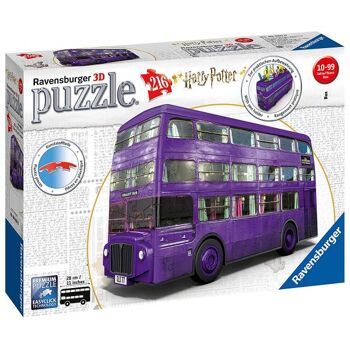 Ravensburger 11158 Harry Potter Knight-Bus 3D Puzzle 216 Teile
