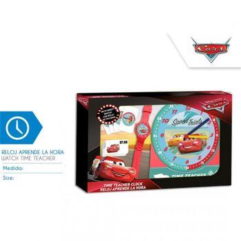 Disney Cars  - Uhren - Set zum Erlernen der Uhrzeiten