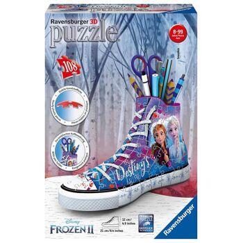 Ravensburger 12121 - Disney Frozen 2/ Die Eiskönigin 2 - Sneaker - 108 Teile 3D Puzzle