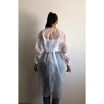 Medical Gown, Protective Gown, Medizinische Schürze, Schutzschürze
