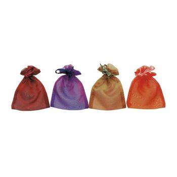 Geschenksäckchen aus Organza, sortiert, B12 x H17 cm