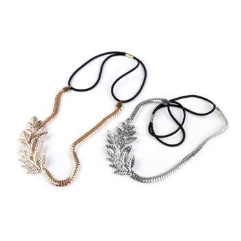 Hair Bun Maker Dutthilfe Haarband Blatt / Reh Beauty ca. 9412 St.