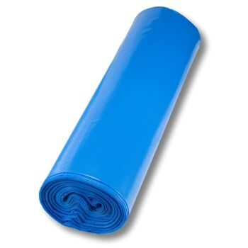 Müllsäcke 120 Liter blau 700 x 1100 mm 10 Rll. á 15 Stk Echte 100 my Abfallsäcke Entsorgungssäcke Mülltüten Müllsack Abfallsack