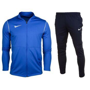 Nike Park 20 Knit Tracksuit Blue