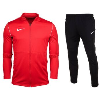 Nike Park 20 Knit Tracksuit Red