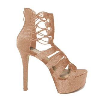 Pink Moda Alice High Heels Sandalen - Damenschuhe