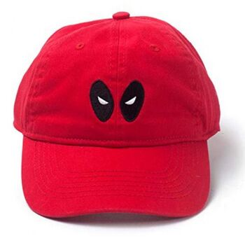 Marvel Deadpool - Baseball-Cap (rot)