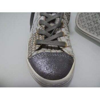 Shoesme Sneaker hoch Fellimitat Gr.33