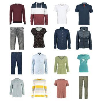 Tom Tailor Mode Damen Herren Kleidung Restposten Mix