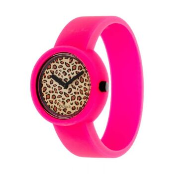 Safari Leopard Fluo Pink