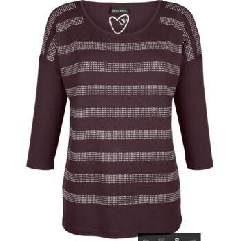 Shirt aus Glitzersteinen 5% Rabatt