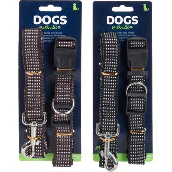 28-209086, Hundeleine mit Halsband, max. 35 kg