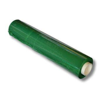Stretchfolie - Wickelfolie für manuelle Verarbeitung [ B 500 mm - L 260 m - ST 23 µ ] [ 6 ROLLEN JE KARTON ] [ GRÜN-OPAK ]