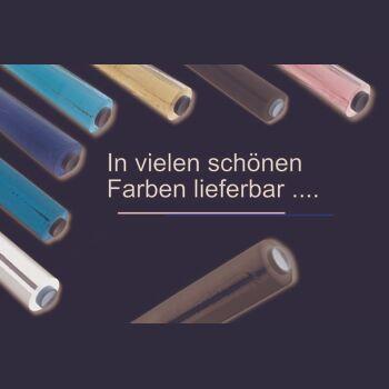 Stretchfolie - Wickelfolie für manuelle Verarbeitung [ B 500 mm - L 260 m - ST 23 µ ] [ 6 ROLLEN JE KARTON ] [ DUNKELBLAU-OPAK ]