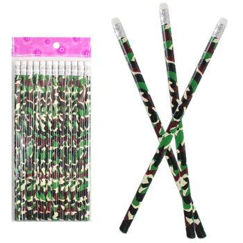 27-95055, Bleistift Camouflage mit Radiergummi