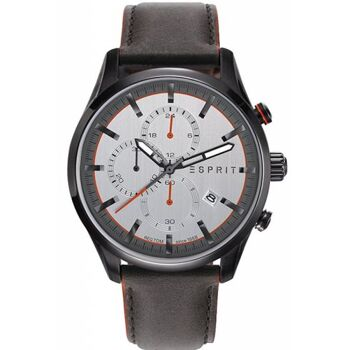 Esprit Uhr Uhren Herrenuhr Chronograph ES108391007 BROWN WHITE