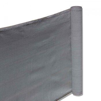 Balkon Sichtschutz 0,90 x 5m Grau