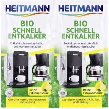 Heitmann Bio Schnell-Entkalker 2 x 25 g, 1er Pack