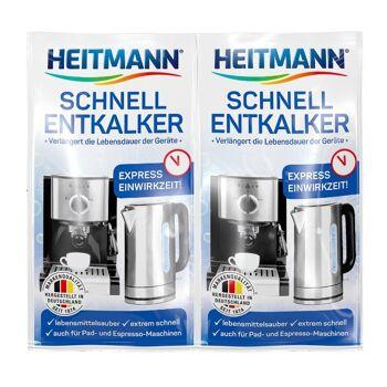 Heitmann Schnell-Entkalker 2 x 15 g, 1er Pack