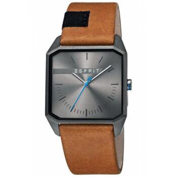 Esprit Uhr Uhren Herrenuhr ES1G071L0025 Cube Gents