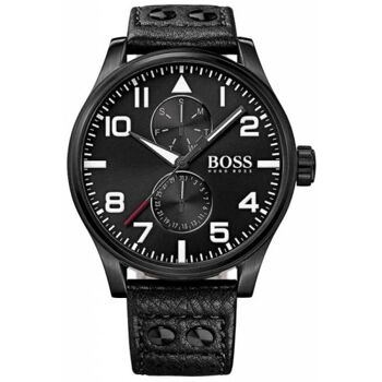 Hugo Boss Uhr Uhren Herrenuhr 1513083 Contemporary Sport Aeroliner Maxx