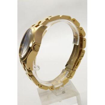 Marc by Marc Jacobs Uhr Damenuhr MBM3267 Henry Glossy gold
