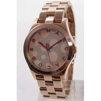 Marc by Marc Jacobs Uhr Damenuhr MBM3268 Henry Glossy rosegold