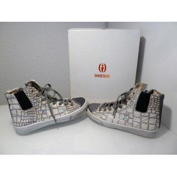 Shoesme Sneaker hoch Fellimitat Gr.38