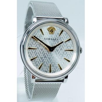Versace Uhr Uhren Damenuhr VE8100519 V CIRCLE Edelstahl
