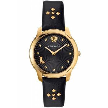 Versace Uhr Uhren Damenuhr VELR00319 AUDREY schwarz