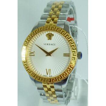 Versace Uhr Uhren Damenuhr VEVC00519 GRECA bicolor