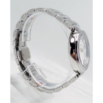 Versace Uhr Uhren Damenuhr VNC210017 Leda Silver Dial