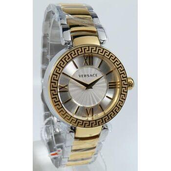 Versace Uhr Uhren Damenuhr VNC220017 Leda Silver Dial