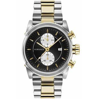 Versace Uhr Uhren Herrenuhr Chronograph VEV400519 CHRONO URBAN bicolor