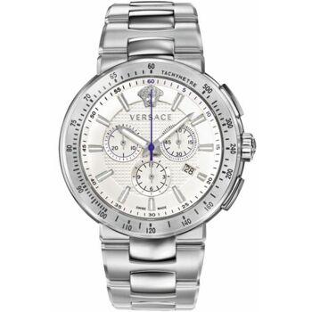 Versace Uhr Uhren Herrenuhr Chronograph VFG090013 Mystique Sport Edelstahl