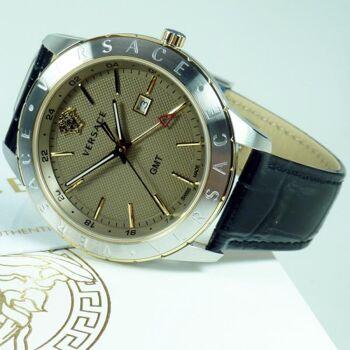 Versace Uhr Uhren Herrenuhr VEBK00218 UNIVERS GMT