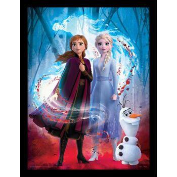 """Disney Frozen 2 / Die Eiskönigin - gerahmtes Bild """"Guiding Spirit"""""""