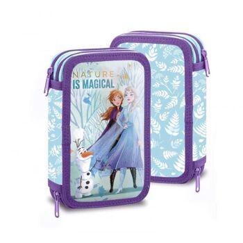 Disney Frozen 2 / Die Eiskönigin 2 - gefülltes Doppeldecker Schüleretui