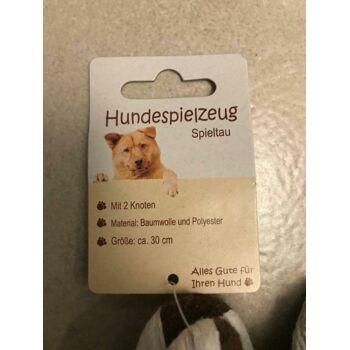 Hundespielzeug Knoten Knochen Knotenseil Kauseil Zahnknoten Tau Spieltau Hund