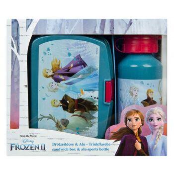 Disney Frozen 2 / Die Eiskönigin 2 - Geschenkset mit Brotdose und Aluflasche