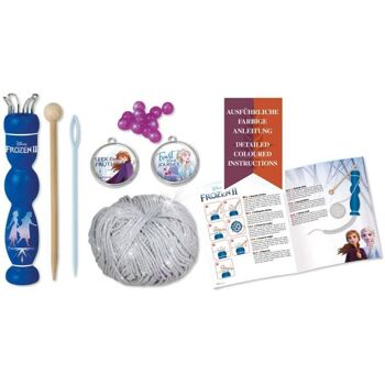 LENA - 42032 - Strickset Disney Frozen II, Krone