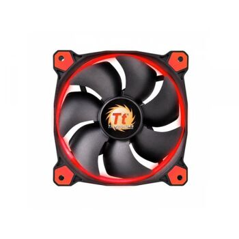 Thermaltake PC- Gehäuselüfter Riing 12 LED Red CL-F038-PL12RE-A