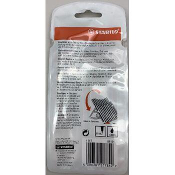 Fineliner - STABILO point 88 - 10er Pack - 10 Standardfarben - für feines Schreiben, Zeichnen und Skizzieren (90X200mm)