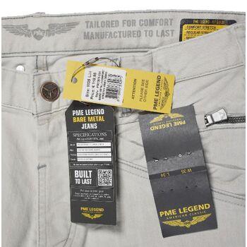 PME Legend Jeans Bare Metal 2 PTR73975-GSK Grey Herren Jeans Hosen 10-191