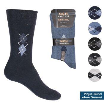 28-937183, Herren Socke 8er Pack, Gr. 39/42, Socken
