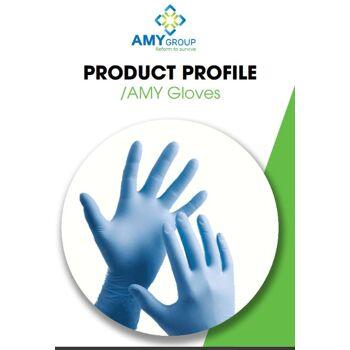 Nitril Glove ( noch Junges Werk) Nitrile Handschuhe Puder und Silicone Frei Zahlung LC aufs Werk FDA CE ISO