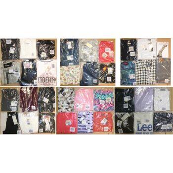 Palettenware Damen Marken Bekleidung neu Mix Jeans Shirt Bluse Rock Tunika 1.Wahl